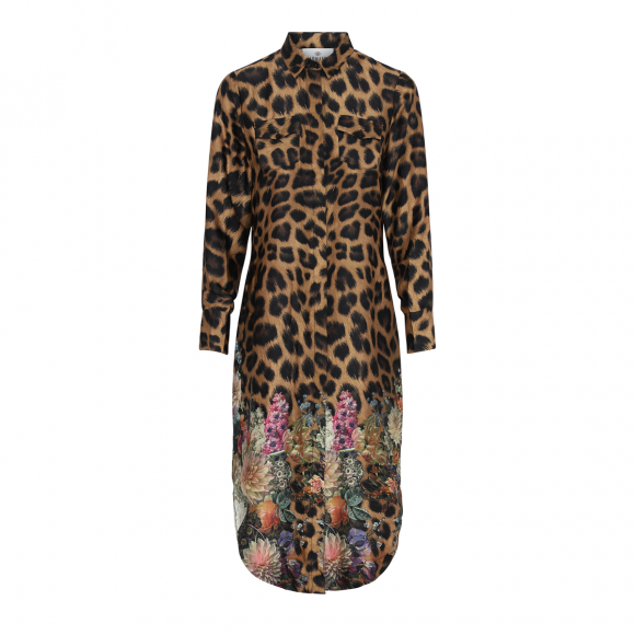 Karmamia - Karmamia Harper dress Flower leopard