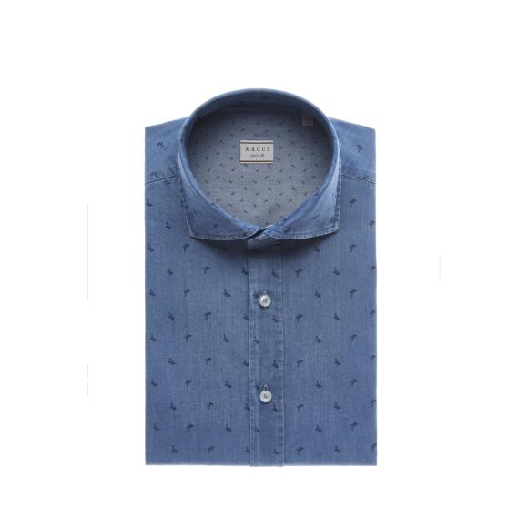 Xacus - Xacus skjorte tailor fit 41550