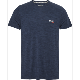 Texture Logo Tee Tommy Jeans