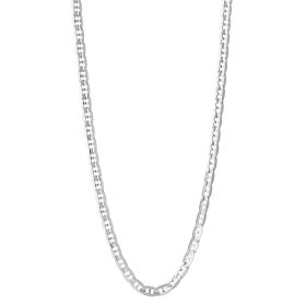 Carlo Necklace Silver Maria Black
