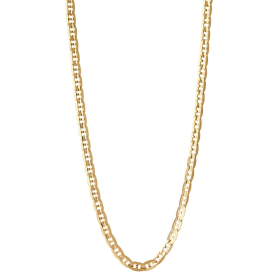 Carlo Necklace Gold Maria Black