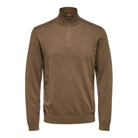 Berg Half Zip Selected Homme