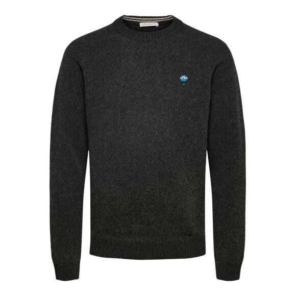 Coban Lambs Wool Crew Neck Selected