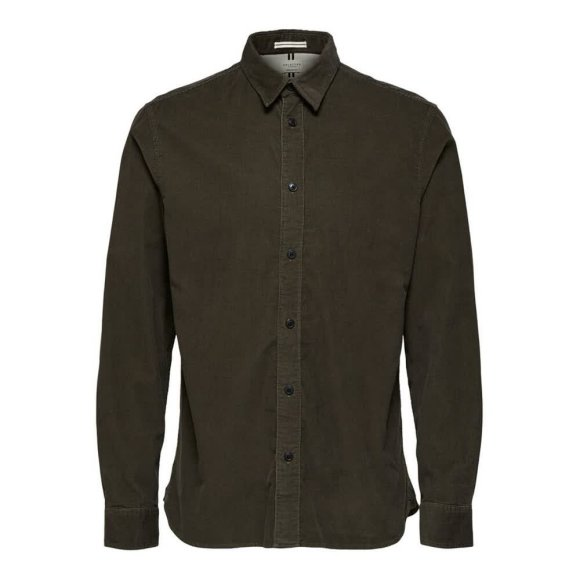 Selected Homme - Henley Cord Shirt