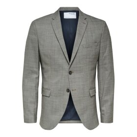 State Light Brown Blazer Selected Homme