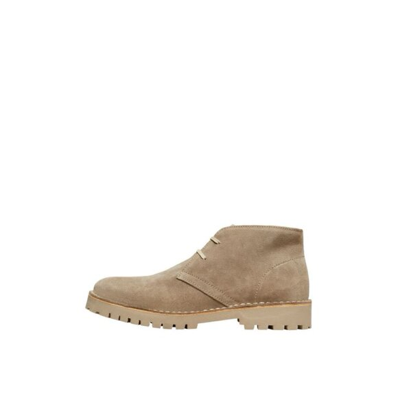 Ricky Suede Chukka Boots Selected Homme
