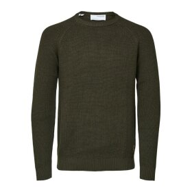 Irven LS Knit Crew Selected Homme
