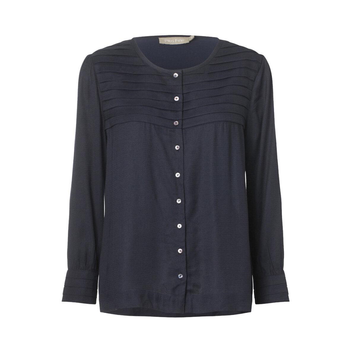 70d910a6d8c4 New York Aabenraa Skjorte D - Fine Cph - Plus Fine Skjorte Kitti navy